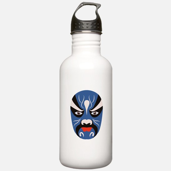 Chinese Mask Water Bottle