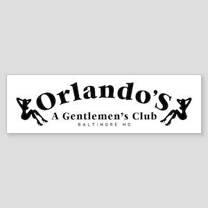 Orlando's Club The Wire Bumper Sticker
