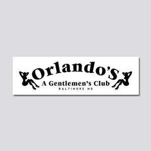 Orlando's Club The Wire Car Magnet 10 x 3