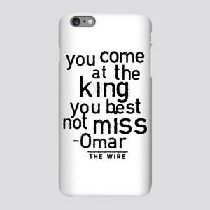 Come At The King The Wire iPhone Plus 6 Slim Case