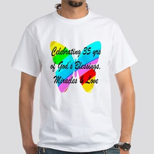 CHRISTIAN 35 YR OLD White T-Shirt