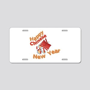 Chinese Firecrackers Aluminum License Plate