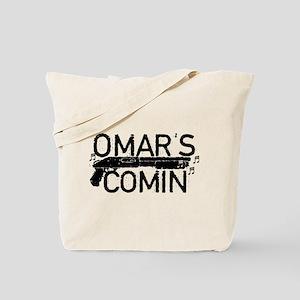 Omar's Comin The Wire Tote Bag