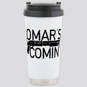 Omar's Comin The Wire Travel Mug
