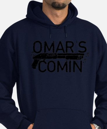 Omar's Comin The Wire Hoodie