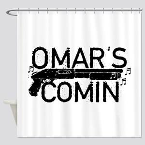 Omar's Comin The Wire Shower Curtain