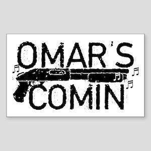 Omar's Comin The Wire Sticker