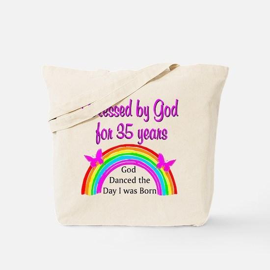 CHRISTIAN 35 YR OLD Tote Bag