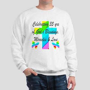 CHRISTIAN 35 YR OLD Sweatshirt