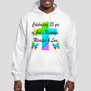 CHRISTIAN 35 YR OLD Hooded Sweatshirt