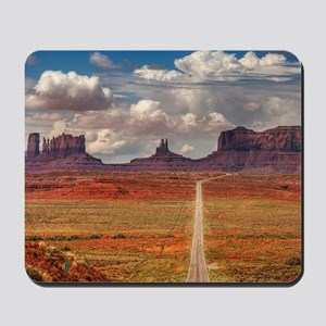 Road Trough Desert Mousepad