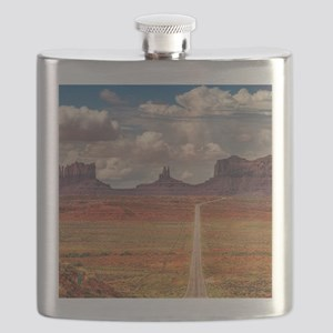Road Trough Desert Flask