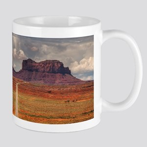 Road Trough Desert Mugs