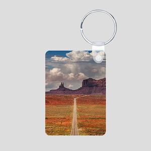 Road Trough Desert Keychains