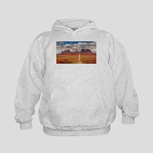 Road Trough Desert Hoodie