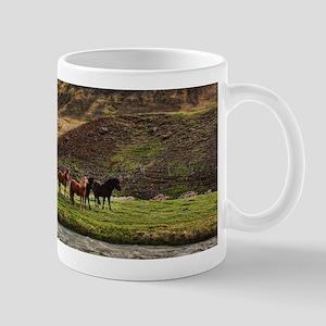 Landscape and Horses Mugs