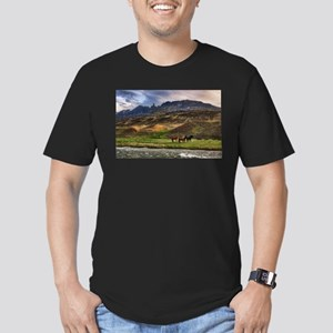 Landscape and Horses T-Shirt