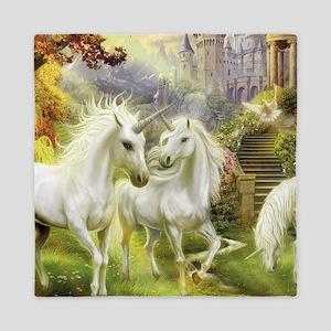 Fantasy Unicorns Queen Duvet