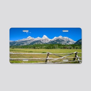Grand Teton National Park Aluminum License Plate