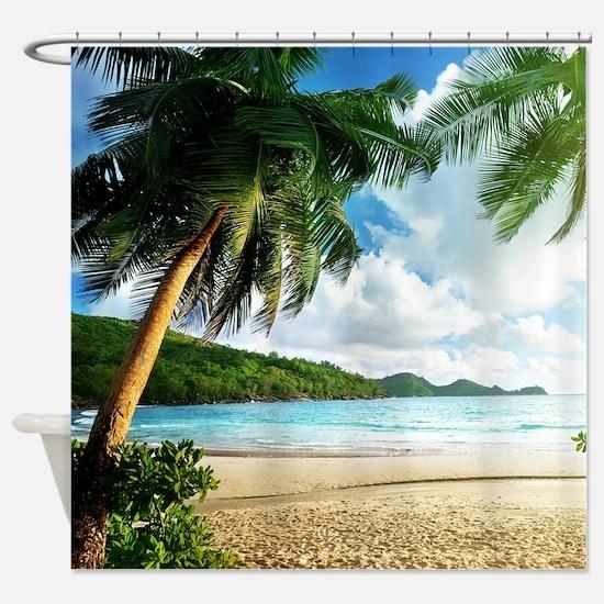 Tropical Shower Curtains | CafePress