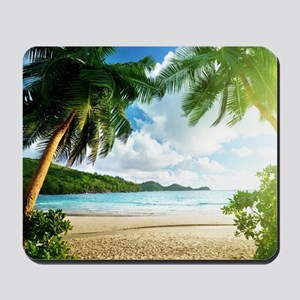 Tropical Beach Mousepad