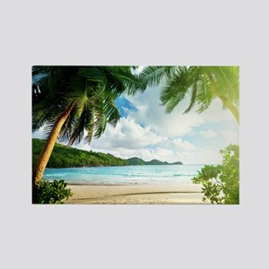 Tropical Beach Magnets