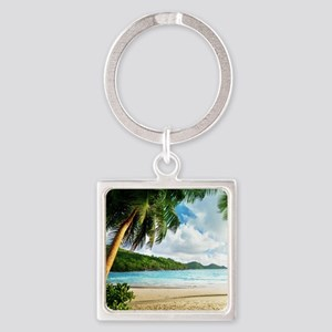 Tropical Beach Keychains