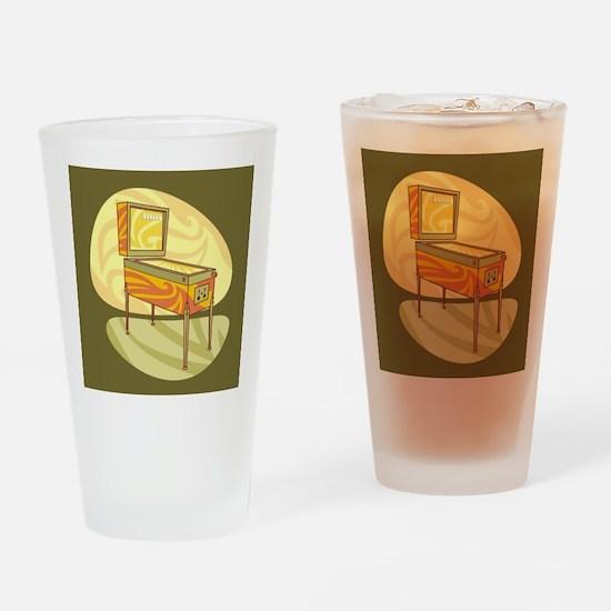 Pinball Drinking Glass