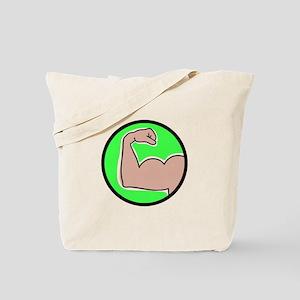 Bicep Curl Tote Bag
