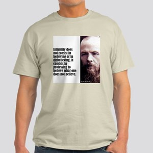 "Dostoevsky ""Infidelity"" Light T-Shirt"