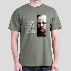 "Dostoevsky ""Infidelity"" Dark T-Shirt"
