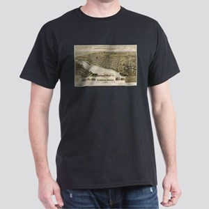 Vintage Pictorial Map of Laredo Texas (189 T-Shirt