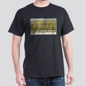 Vintage Map of Houston Texas (1891) T-Shirt