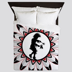 Native American Indian Dance Queen Duvet