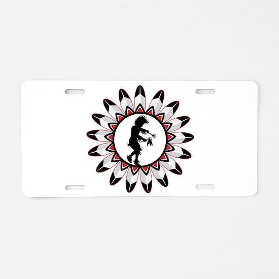 Native American Indian Danc Aluminum License Plate