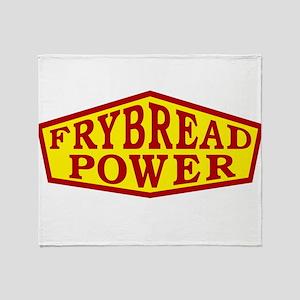 FRYBREAD POWER Throw Blanket