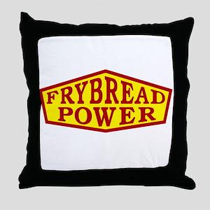 FRYBREAD POWER Throw Pillow