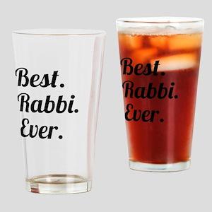 Best. Rabbi. Ever. Drinking Glass