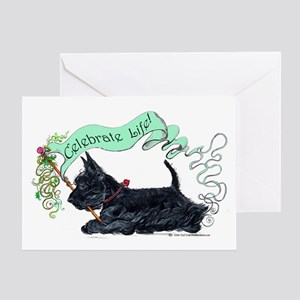 Scotties Celebrate Life! Greeting Card