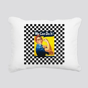 Rosie the Riveter We Can Do It Rectangular Canvas