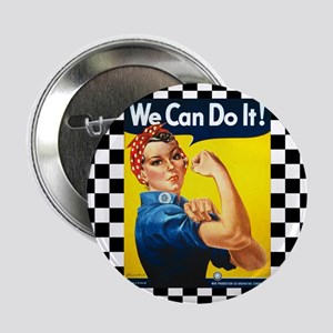 """Rosie the Riveter We Can Do It 2.25"""" Button"""
