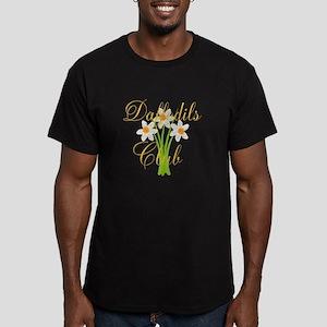 Cute Daffodils Waterco Men's Fitted T-Shirt (dark)