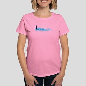 Long Island - New York. Women's Dark T-Shirt