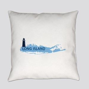 Long Island - New York. Everyday Pillow
