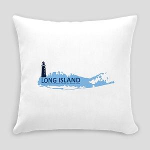 Long Island - New York. Everyday Pillow