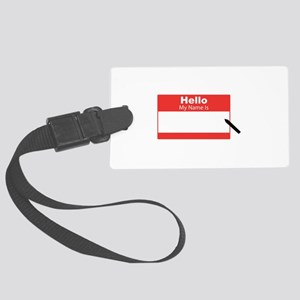 My Name Is Luggage Tag