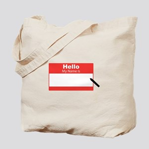 My Name Is Tote Bag