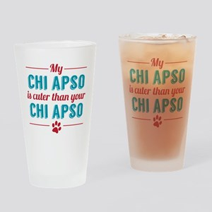 Cuter Chi Apso Drinking Glass