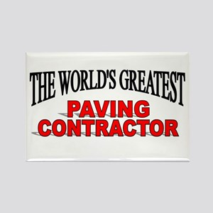 """The World's Greatest Paving Contractor"" Rectangle"