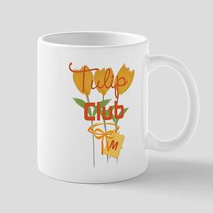Cute Yellow Tulips Mug